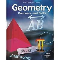 McDougal Concepts & Skills Geometry: Student Editon Geometry 2005