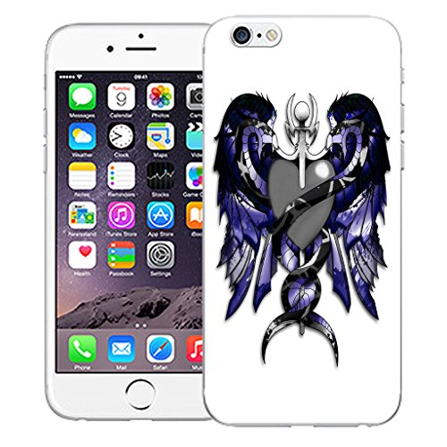 """Mobile Case Mate iPhone 6S 4.7"""" Silicone Coque couverture case cover Pare-chocs + STYLET - Snake Shield pattern (SILICON)"""