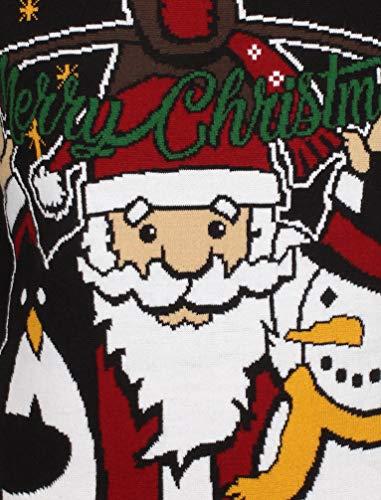 Pull Squad Festif Noël Unisexe Greetings Noir Seasons Créateur Adultes 4t1vgqv