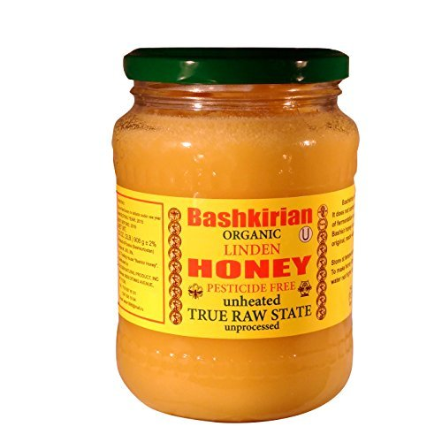 Organic Raw Honey Bashkirian Linden (2 Lbs) by YumPeak