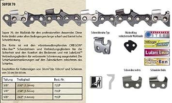 """Vollmeißel Säge Kette 62TG 37cm 325/"""" 1.6mm passend für Stihl 028 AV Super Chain"""
