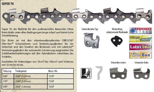 Oregon Sägekette Vollmeißel 3 8 1,6mm 90cm 115 115 115 TG B006HTADQY | Luxus  3c0190