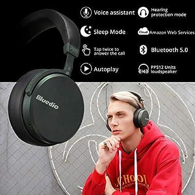 Bluedio A2 (Air) Lightweight Stylish Stereo Wireless Bluetooth Headphones with Mic