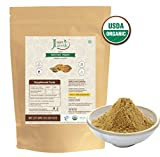 Just Jaivik 100% Organic Haritaki Powder - Terminalia Chebula -227g/0.5 LB - USDA Certified Organic - An Ayurvedic Herb for Detoxification & rejuvenation for Vata