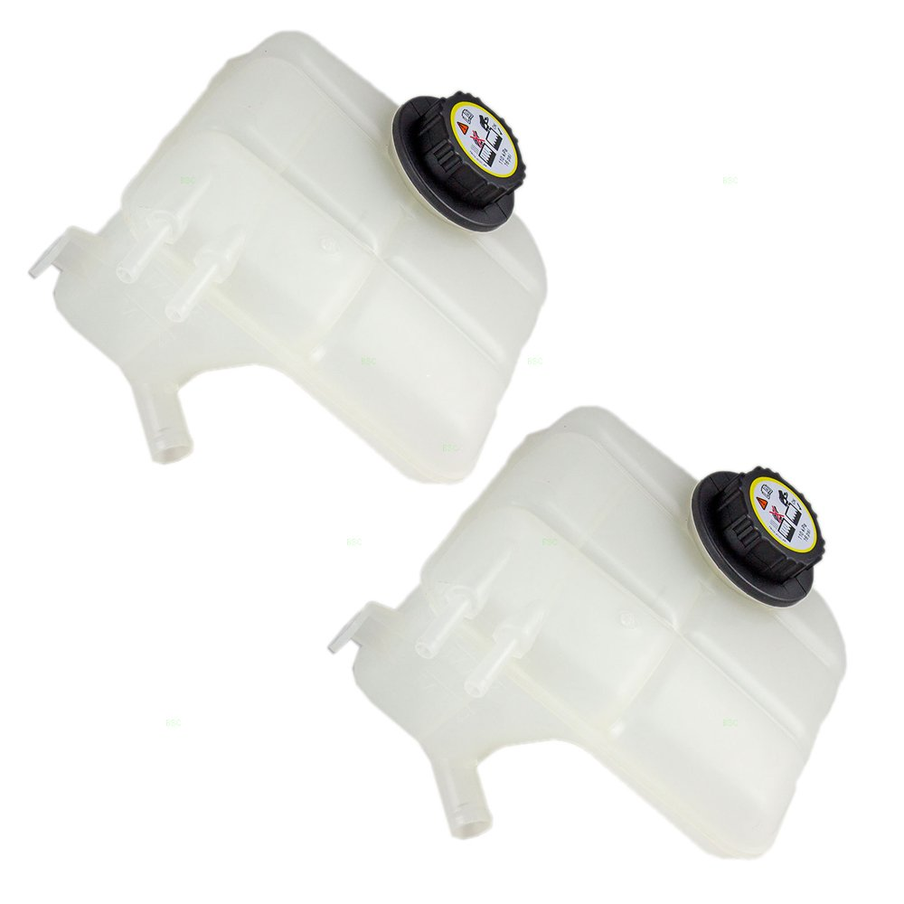 Replacement Coolant Overflow Tank Recovery Bottle Expansion Reservoir with Cap Compatible with 1999-2003 Galant MR212510
