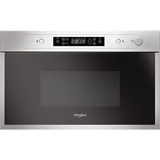 Whirlpool AMW 442/IX Integrado 22L 750W Acero inoxidable - Microondas (Integrado, 22 L, 750 W, Acero inoxidable, 700 W, 25 cm)