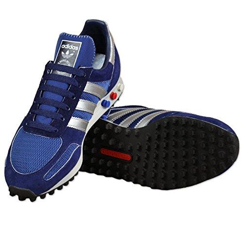 Dark Dark Silver Metallic Herren La adidas Trainer Sneakers Blue Marine wBf8AOIq