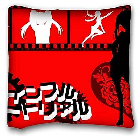 Suave funda de almohada de carcasa (animales caballo bosque lugar de riego) funda de almohada 16