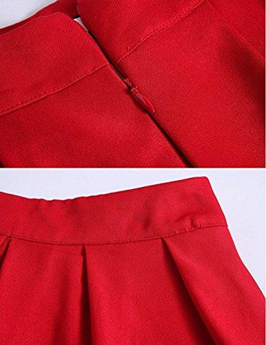 Arkind - Vestido - para mujer Rojo