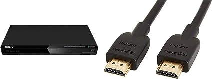 Sony Dvp Sr170 Dvd Player Scart Amazon Basics Hochgeschwindigkeits Hdmi Kabel 2 0 Ethernet 3d 4k Videowiedergabe Und Arc Ultra Hd 0 91 M Heimkino Tv Video