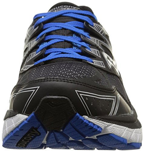 many kinds of for sale Saucony Men's Redeemer ISO Road Running Shoe Black/Blue cheap sale get to buy outlet order big discount cheap online A8WdPHuN