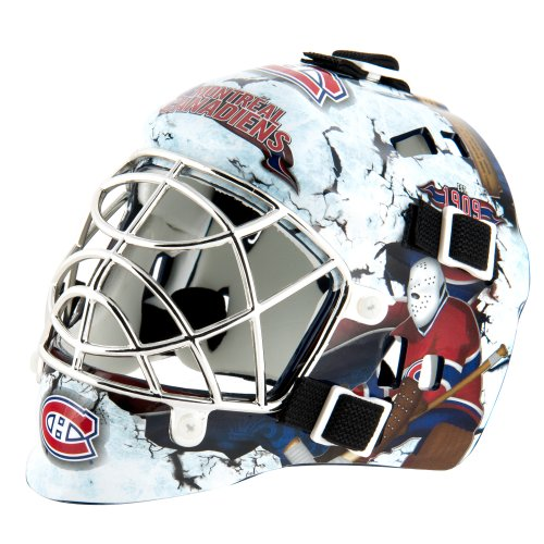 Canadiens Hockey Montreal Jersey (Franklin Sports NHL League Logo Montreal Canadiens Mini Goalie Mask)