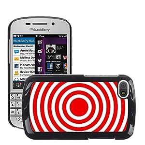 Etui Housse Coque de Protection Cover Rigide pour // M00151319 Resumen Antecedentes Círculos de color // BlackBerry Q10