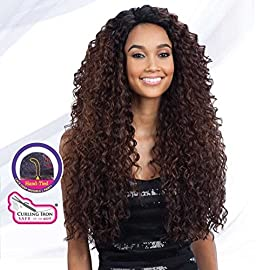 """FreeTress Equal Lace Deep Invisible""""L"""" Part Lace Front Wig – KITRON"""