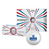 OLLU Callaway Supersoft Golf Balls 12/pkg 'Our Lady of the Lake University Athletics - Offical Logo'