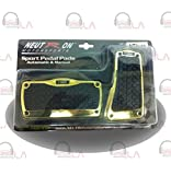 SPORT PEDAL PADS 2PC GOLD/TIRE (NTR943)