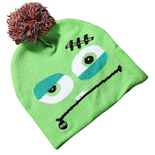 Assiduousic Knitted Hat Woman Hat Knitted Hat Bright Halloween Newborn Baby Halloween Party Pumpkin Hat Comfortable Knitted Crochet Supplies for -