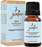 Cloud 9 Anxiety Relief Synergy Blend Essential Oil 100% Pure & Natural Therapeutic Grade 10 ml - Anti Depressant, Stress Relief, Calming - Blood Orange, Patchouli, Bergamot, Grapefruit Pink, Neroli
