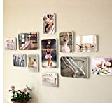 ZGP Home@Wall photo frame Dance Photo Combination Decorative Wall Hanging Ballet Photo Wall Modern Dance Dance Training Frame Creative (Color : A)