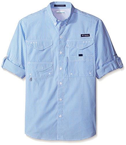 Columbia Super Bonehead Classic Long Sleeve Shirt, White Cap