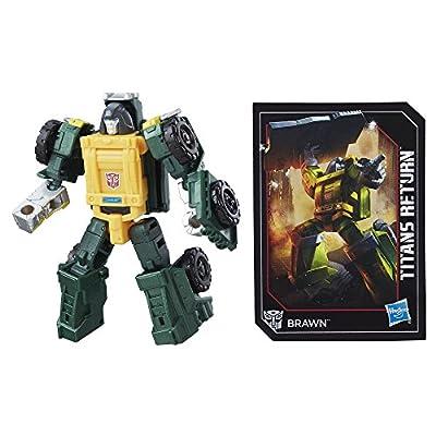 Transformers Generations Titans Return Legends Class Brawn
