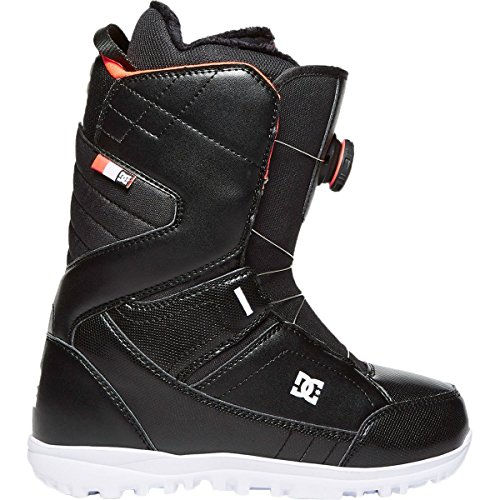DC Women's Search Boa Snowboard Boots, 5, Black