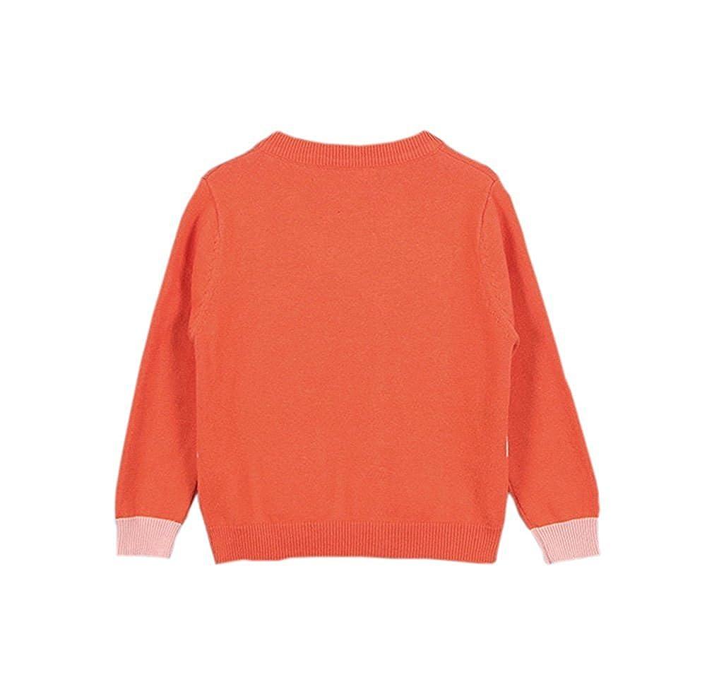 Baby Girls 1-6T Cute Swan Crew Neck Button-down Cotton Knits Cardigan Sweaters Sweatshirt Coat Jacket Outerwear