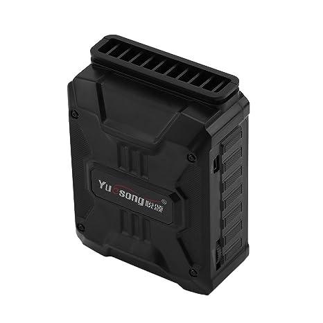 E-Greetbuy Mini Ventilador de refrigeración de Escape USB para Ordenador portátil, refrigerador de