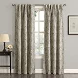 Best Sun Zero Home Black Out Curtains - Sun Zero Mayfield Collection Blackout Back-Tab Curtain Panel Review