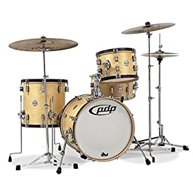 Pacific Drums PDCC1803NT Concept Classic 3-Piece Bop Kit Shell Pack 4