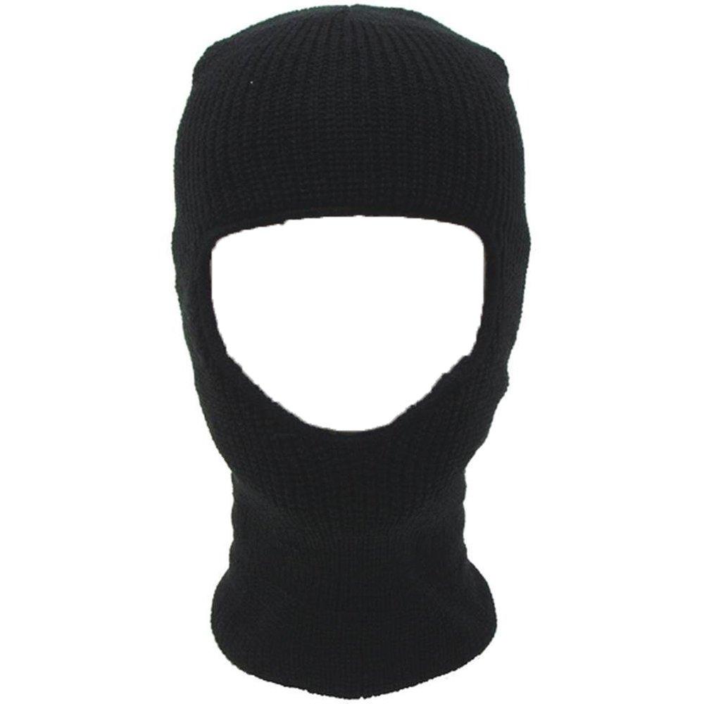 Oramics Sturmhaube Skimaske in Schwarz - ideal als Gesichtsschutz
