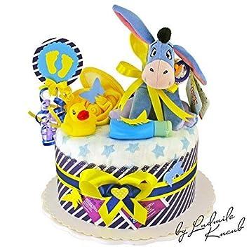 Momsstory Windeltorte Junge Esel I Aah Disney Baby