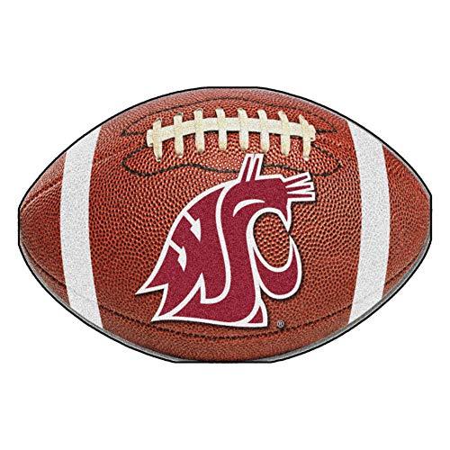 (FANMATS NCAA Washington State University Cougars Nylon Face Football Rug)