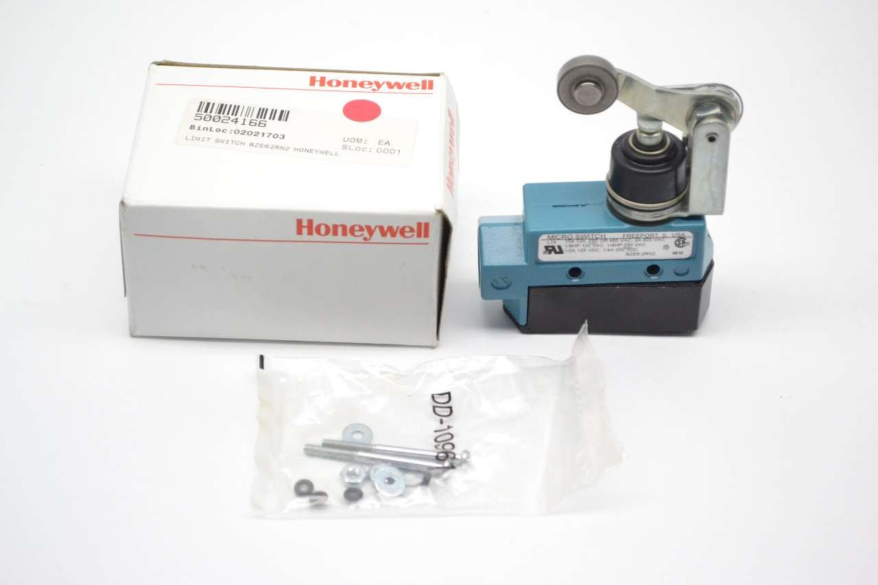 HONEYWELL S&C BZE6-2RN2 Limit Switch TOP Roller ARM SPDT-1NO/1NC