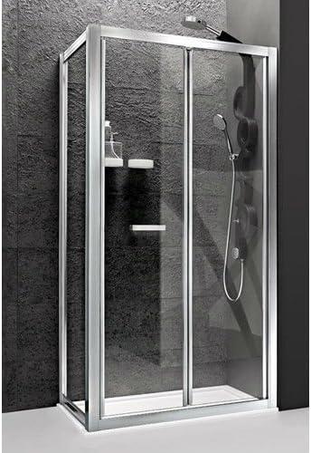 arblu – Mercurio Puerta a Fuelle + lado adicional para plato ducha ...