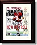 Framed Alabama Football 2012 Sports Illustrated Preview A. J. McCarron Autograph Photo