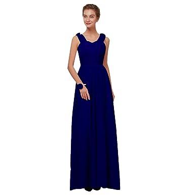 new style a3e6f b3954 Beauty-Emily Abito da Sera Lungo da Damigella d'Onore