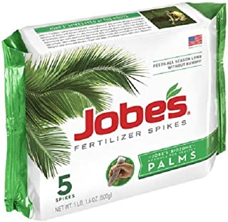 product image for Jobe's (7) ea 01010 5 Pack, 10-5-10, Palm Tree Fertilizer Spikes