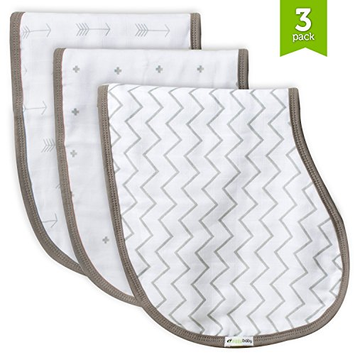 Muslin Chevron Crosses Ziggy Baby product image