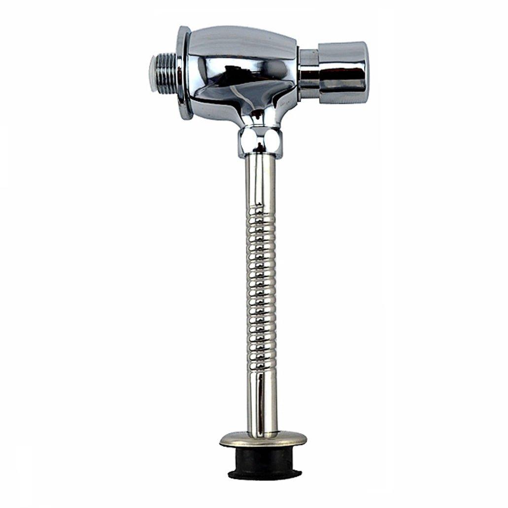Bouton type de bain WC accéléré Laiton robinet de chasse pour urinoir szdealhola
