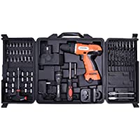 Goplus Cordless Construction Screwdriver 78 Piece Features