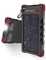 Solar Charger 15000mAh,Teryei Portable S...