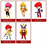 Japan Import Takara Tomy Arts Cutie Honey Honey flash mascot all five