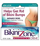 Bikini Zone Medicated Creme for Bikini Area, 1 oz