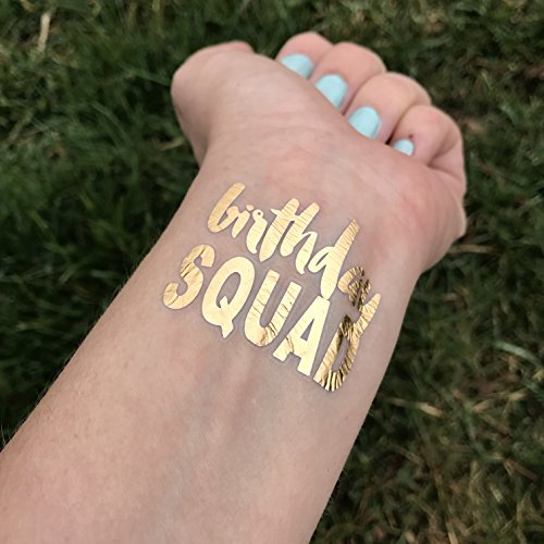 metallic-gold-birthday-squad-birthday-party-temporary-tattoo-set-of-3