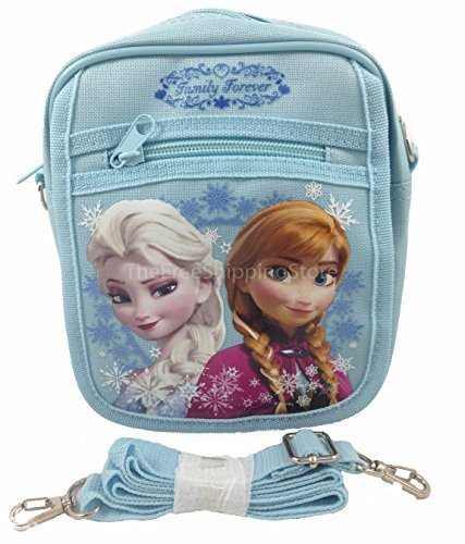 Disney Frozen Queen Elsa Camera Bag - Blue -