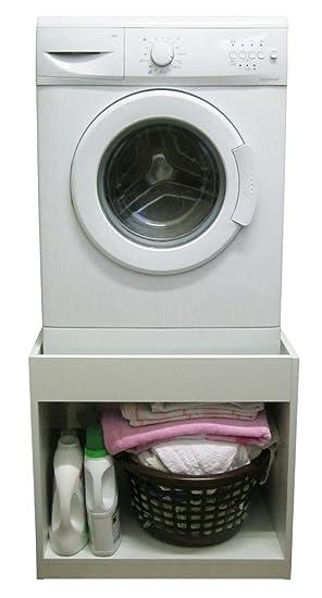 Etwas Neues genug Unterbausockel universal für Waschmaschine und Trockner 52cm hoch &FS_84