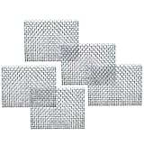 Beautify Aquascape with Luffy Wire Stainless Steel Mesh (5 pcs) - No more Messy/Floating Moss - Rust-free - Easy to Use with all Aquatic Plants including Java, Pellia, Riccia, Star & Flame moss