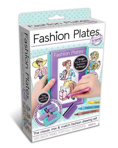 Kahootz Fashion Plates Travel Kit