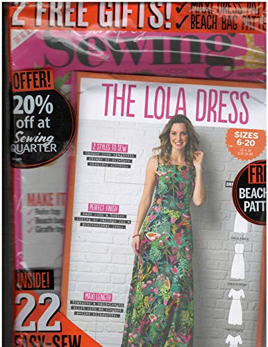 - Simply Sewing Magazine Issue 44 The Lola Dress Pattern Included